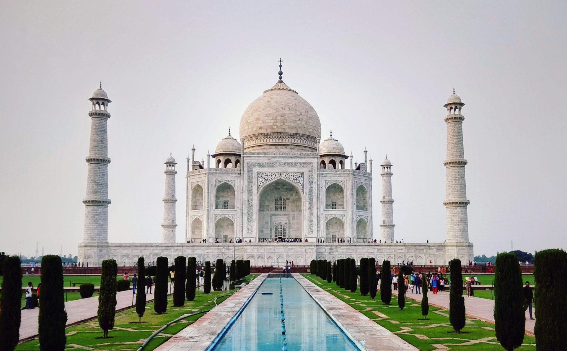viaje al Taj Mahal