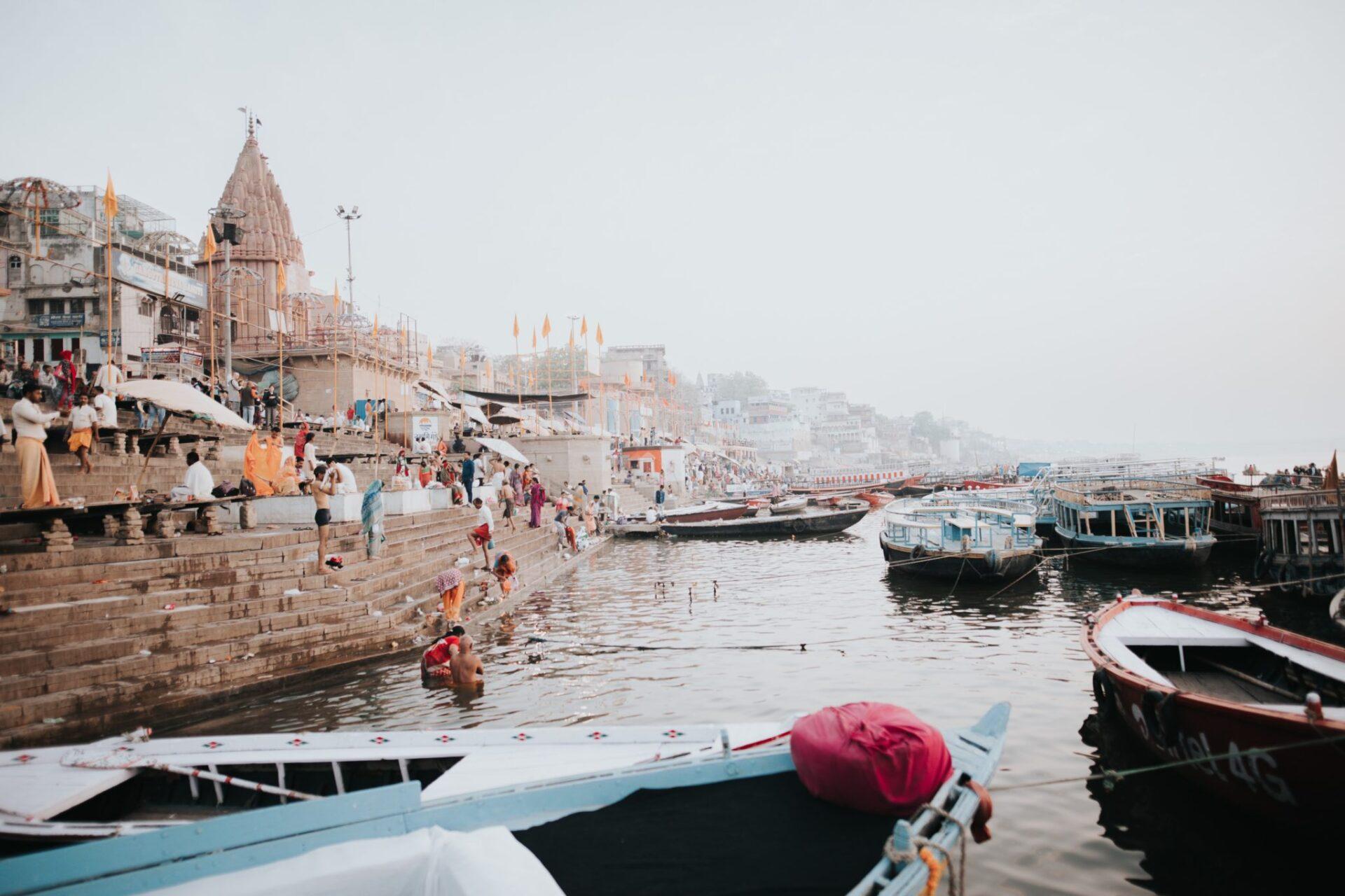viaje ala ciudad Sagrada de la India