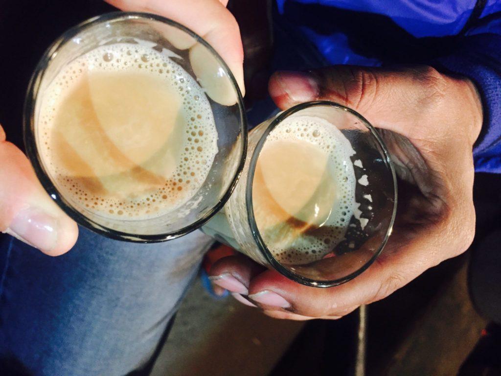 masala chai en Rishikesh, India