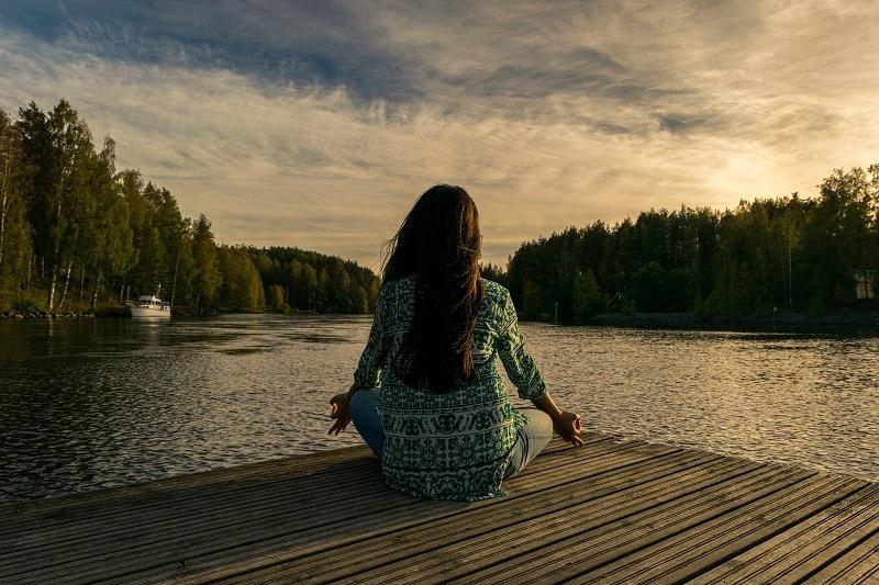meditación en retiuro espiritual