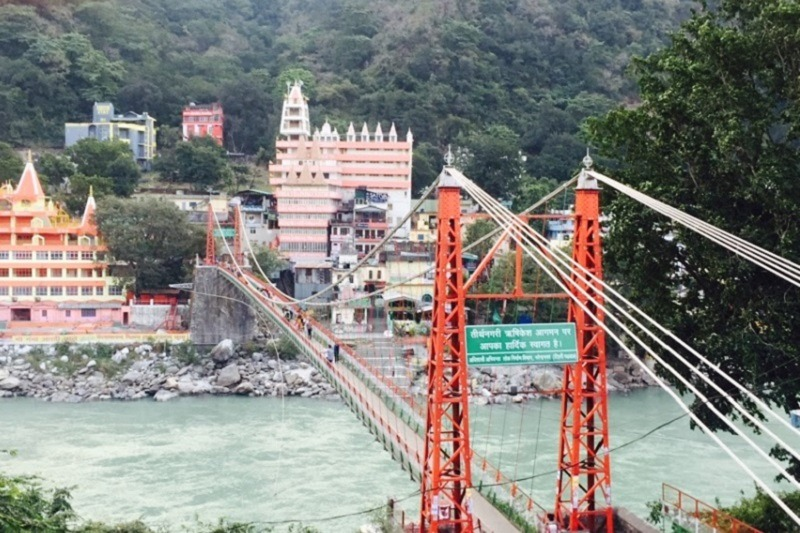 Rishikesh capital del yoga