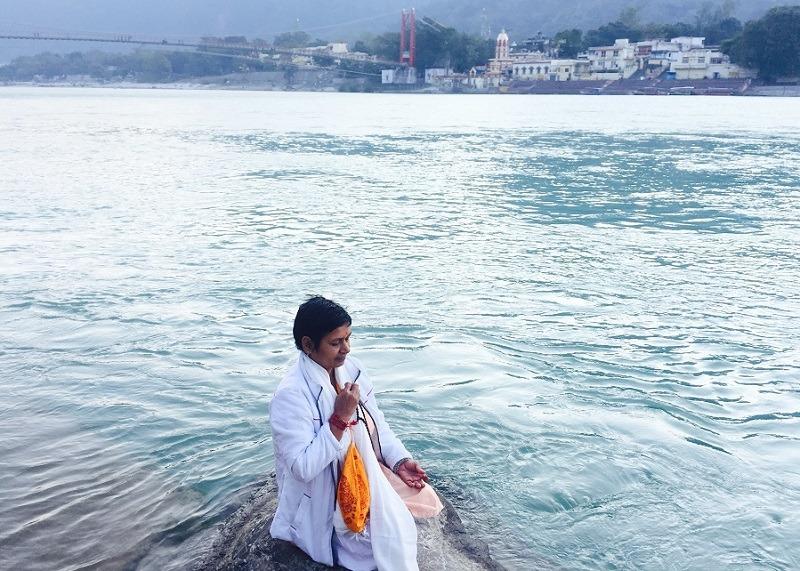 Meditación en Rishikesh